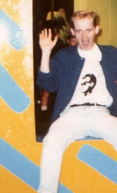 This is me, aged 23, attending Expo 88