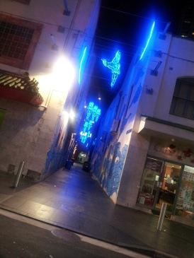 Jason Wing's work in Chinatown Laneway, Sydney