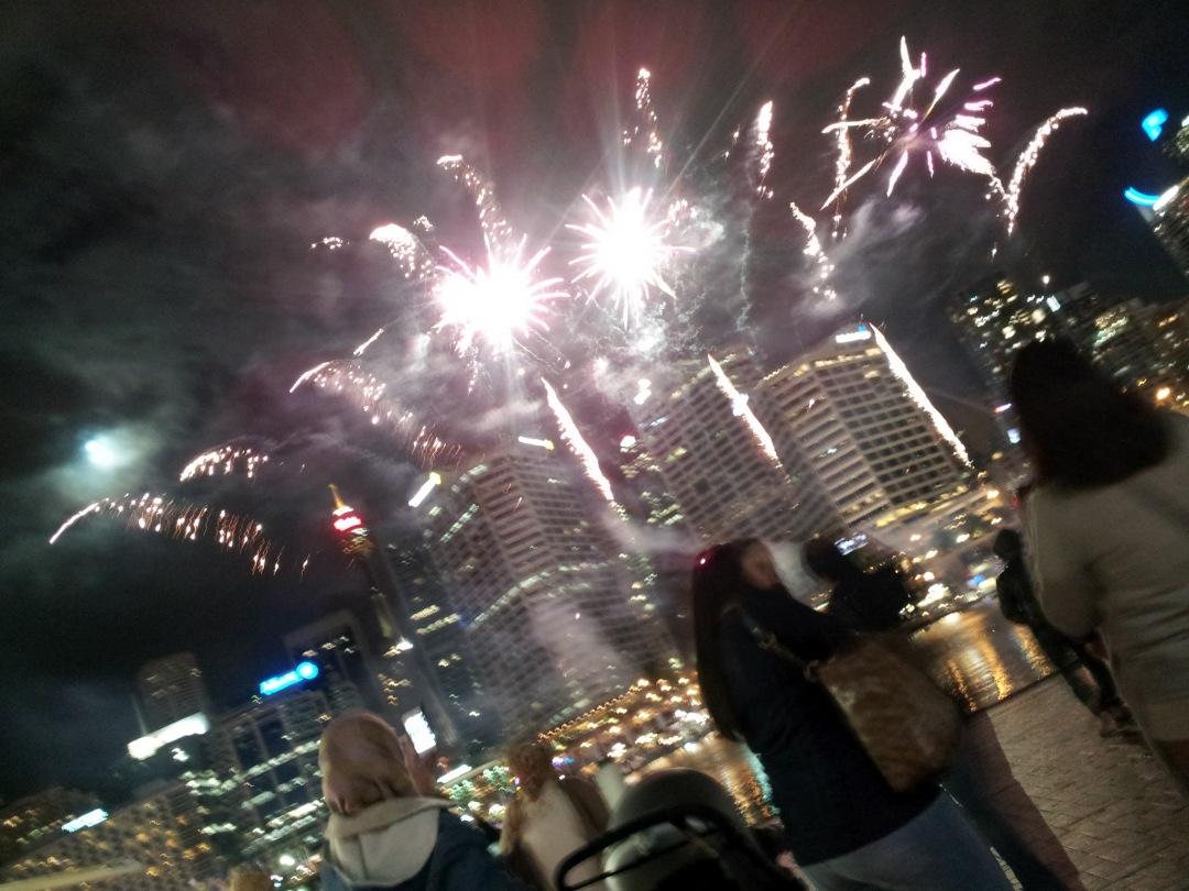 Fireworks at Darling Harbour
