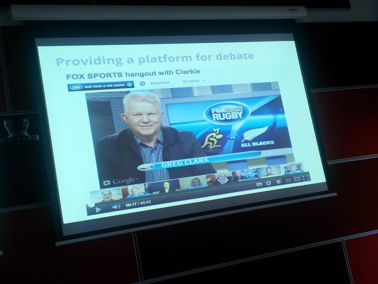 Fox Sports uses Google+ Hangouts