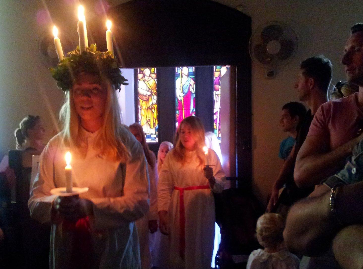 Lucia Ceremony in Sydney