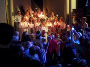 Lucia Ceremony in Sydney