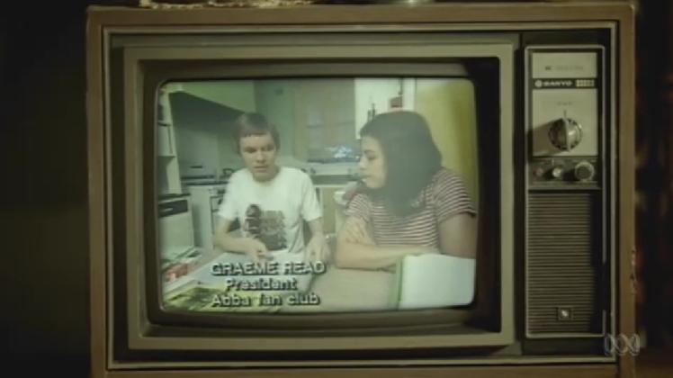 Graeme Read, then president of the Australian ABBA Fan Club was interviewed on the legendary Australian TV show, Wonder World.