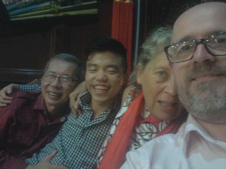 William, Ji-Shen, Kate, James