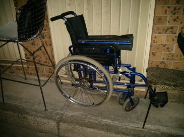 Discarded Wheelchair