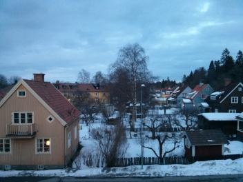 Backyard View - Stockholm