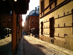 Gamla Stan, the old town in Stockholm