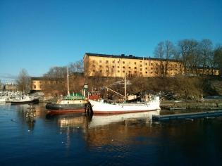 Looking towards the East Asian Art Museum in Stockholm