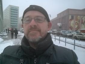 Snowing in Berlin