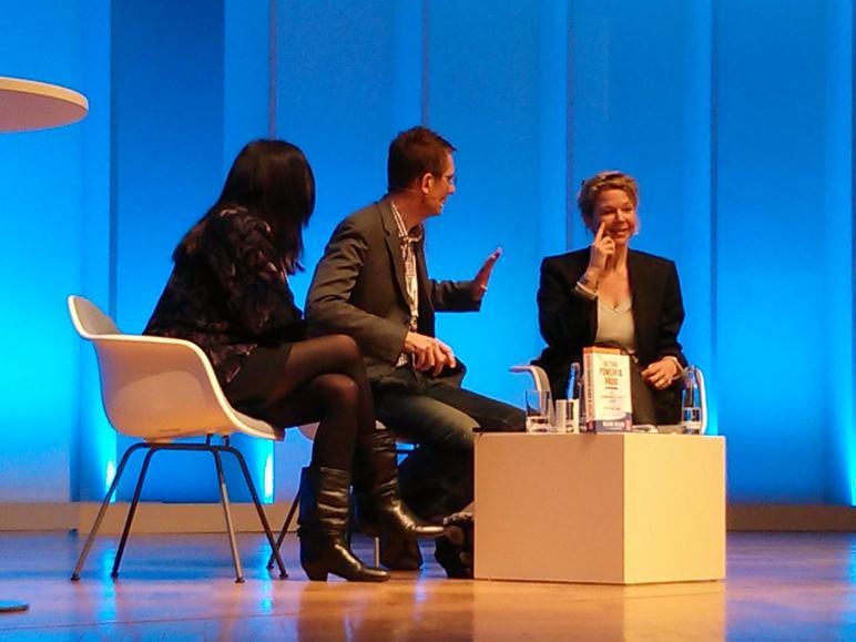 Valerie Geller and Valerie Weber at Radio Days Europe 2013