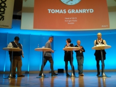 Twenty-five ideas in forty-five minutes by five people at Radio Days Europe