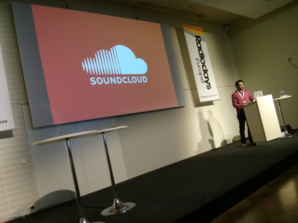 Ben Fawkes from Soundcloud at Radio Days Europe 2013