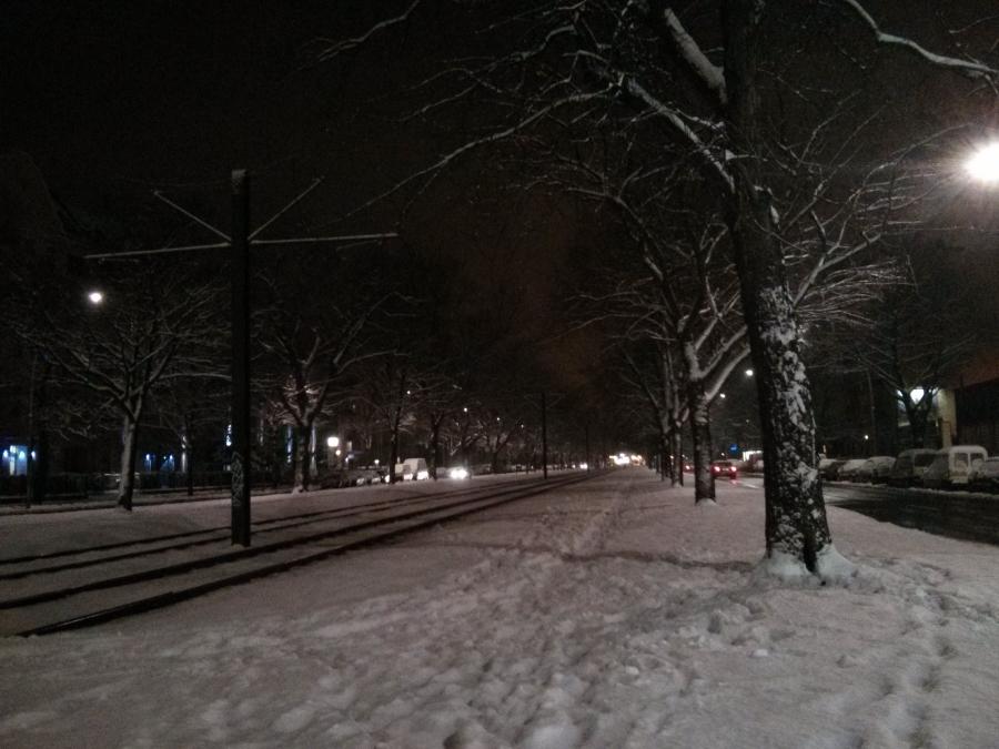 Berlin Snow
