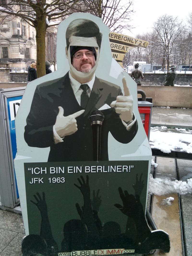 Ich bin ein Berliner - JFK Cutout