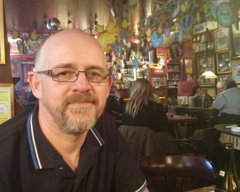 Late afternoon drink in a bar in Copenhagen