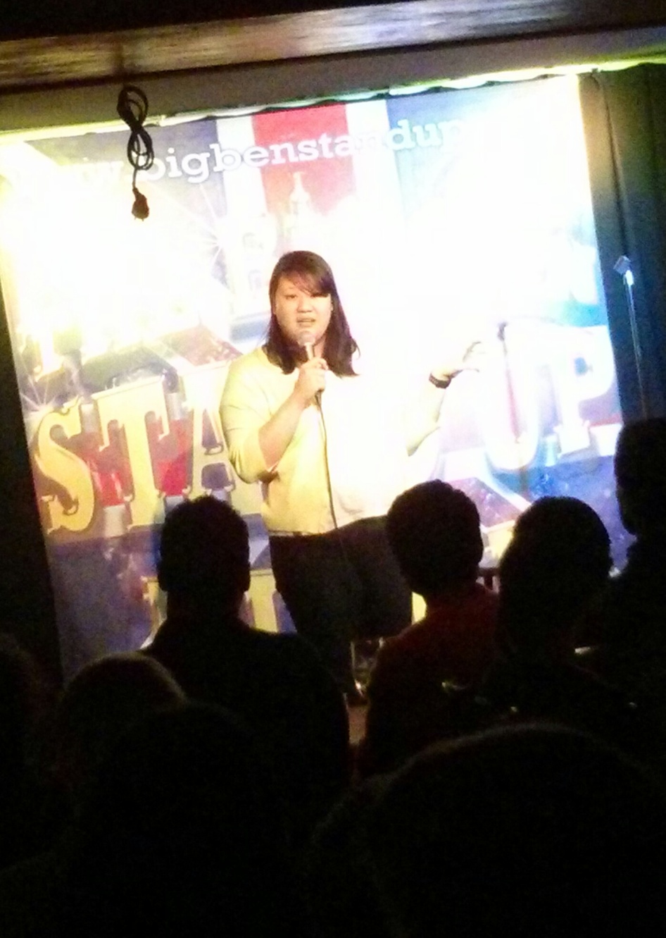 English language comedy night at Big Ben in Stockholm