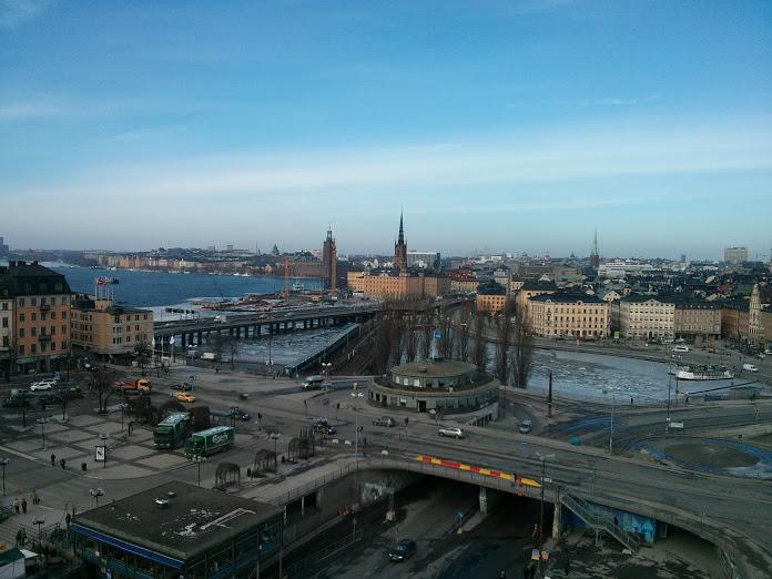 Katarinahissen - March 2013