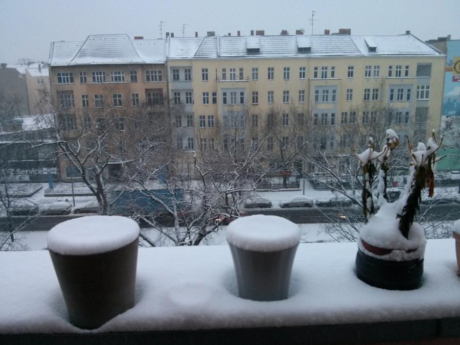Balcony View in Berlin