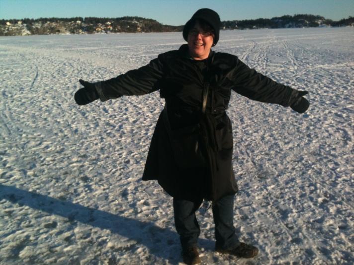 Sue On The Ice