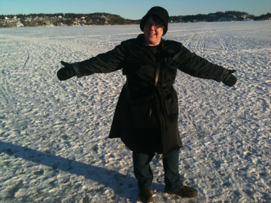 Sue On The Ice