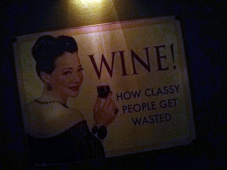 Wine. How classy people get wasted.