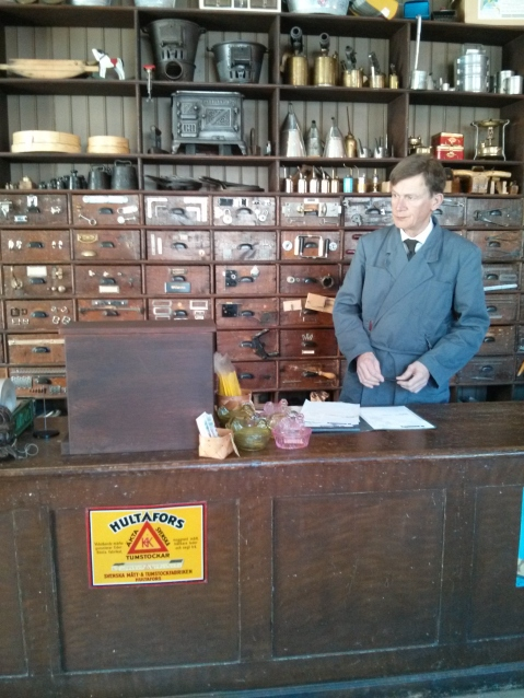 Iron Monger's Store at Skansen