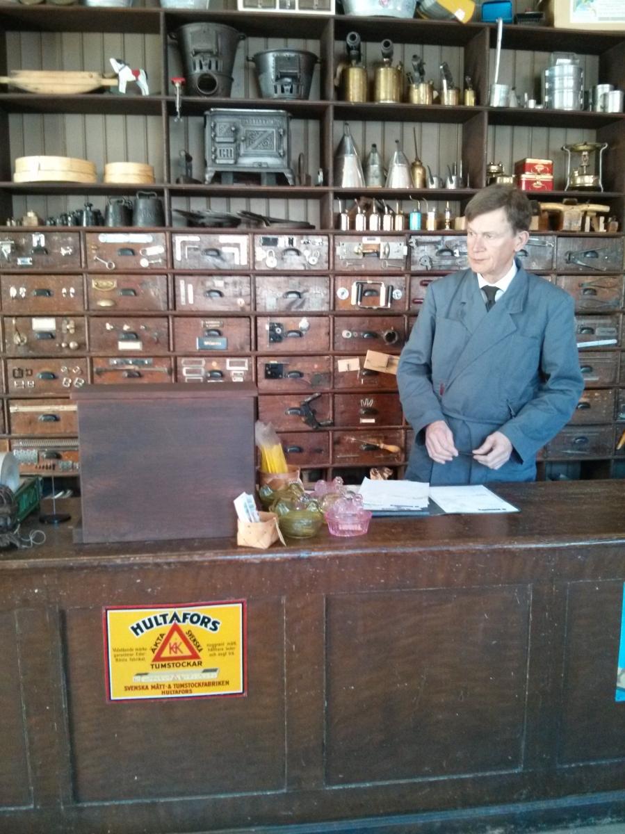 Iron Monger's Store at Skansen