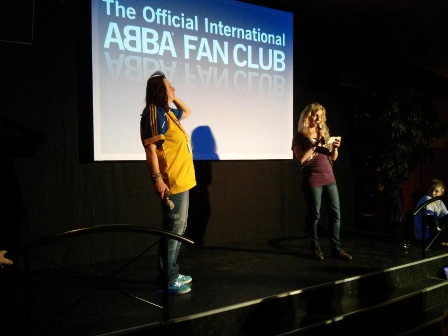 Anita and Helga who run the International Fan Club