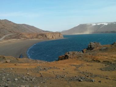 Lake south of Reykjavik