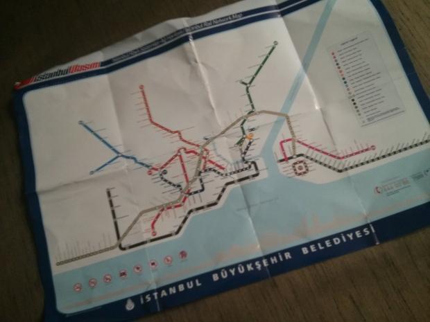 Istanbul Metro Map