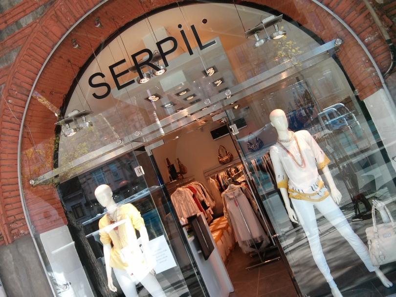 The shop called Serpil