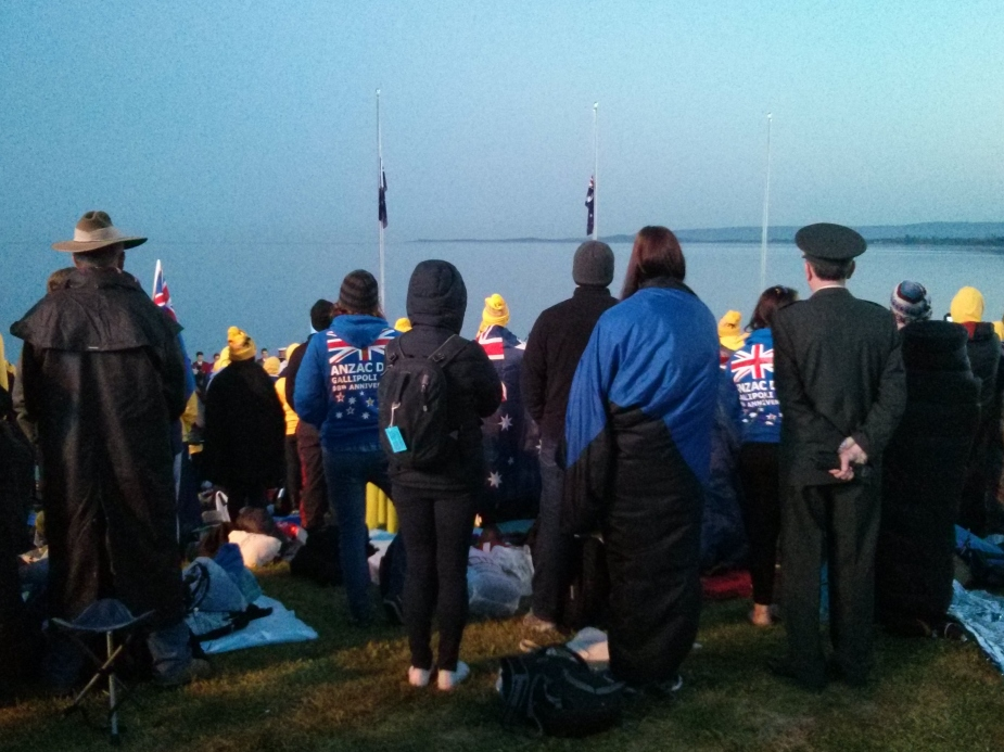 Anzac Day in Turkey - Looking out to the Aegean Sea