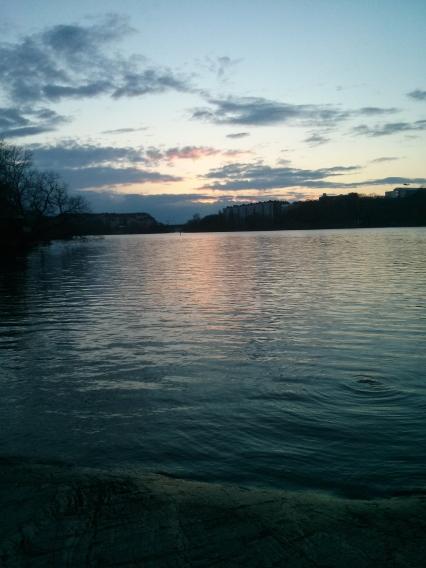Sunset over Långholmen