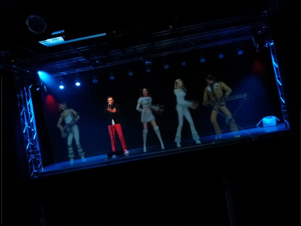 You can sing-a-long with ABBA holograms.