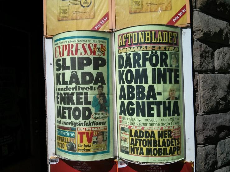 ABBA Museum Headline