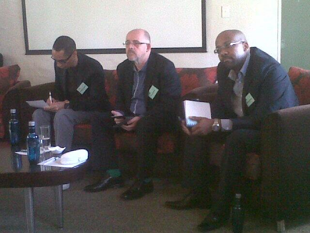 Radio Days Joburg 2013 opening panel photograph taken from Twitter.