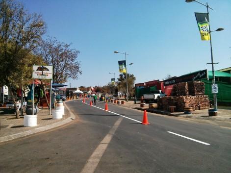 Visiting Soweto - Mandela, Tutu Street