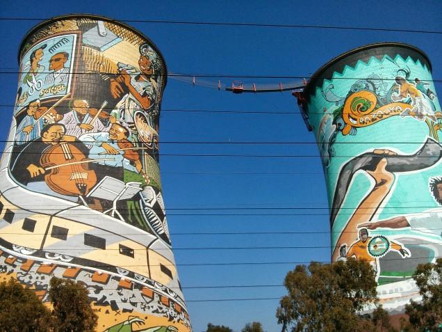 Visiting Soweto - Transformation