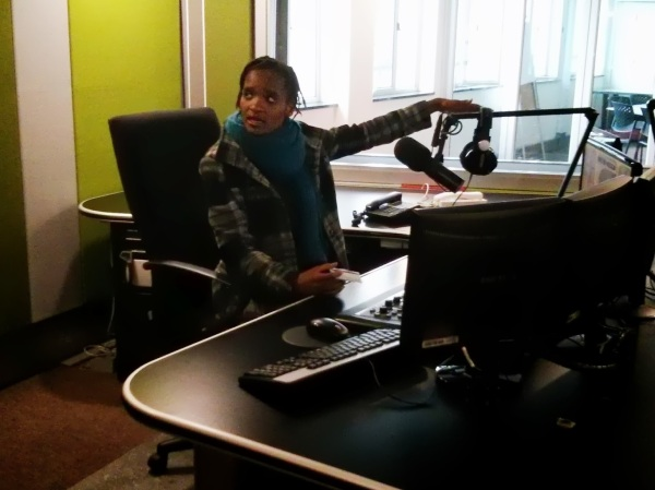 Behind the scenes at VOW-FM, Johannesburg