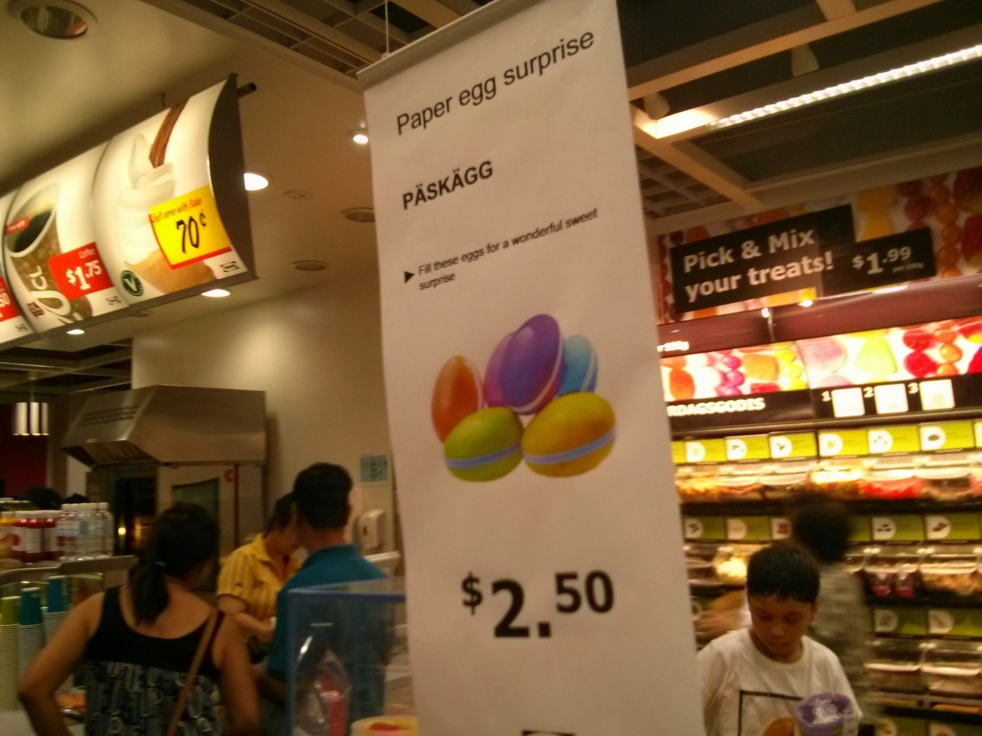 They're Easter Eggs, not Paper Eggs, and the surprise is they're on sale at IKEA In Sydney at the end of September.