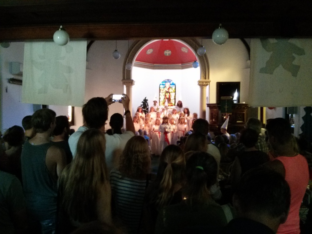 Lucia Celebrations at the Swedish Church in Sydney