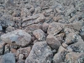 Rocks atop Mount Wellington