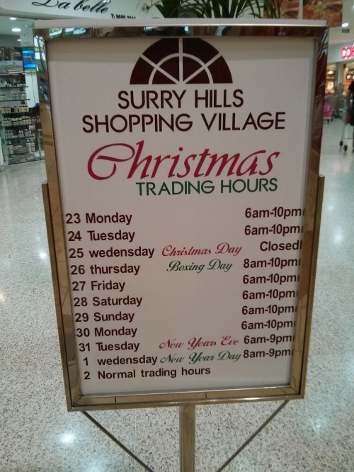 As the trading hours part of the Coles website is down, due to excess demand, here's what's happening in Surry Hills.