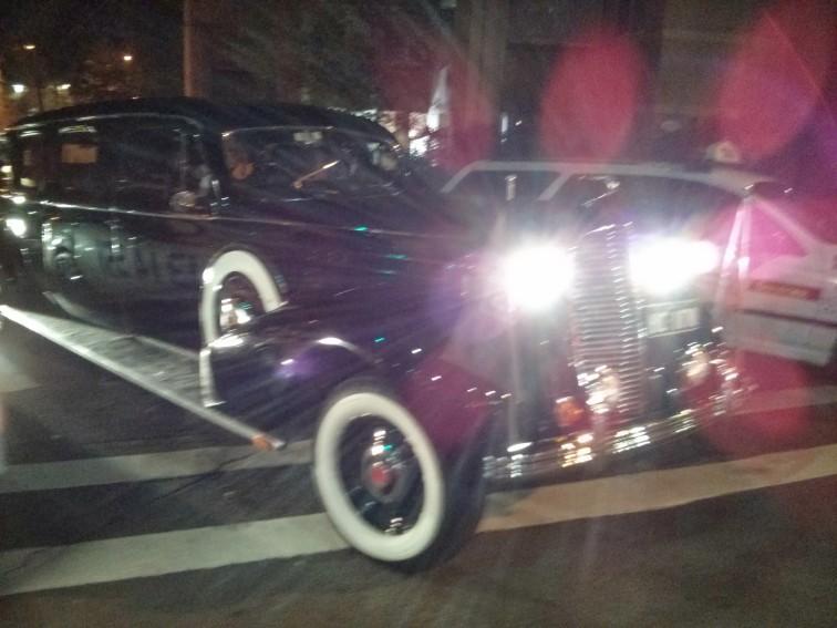 Flash car on Oxford Street