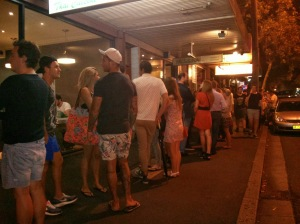 Queuing for Ice Cream
