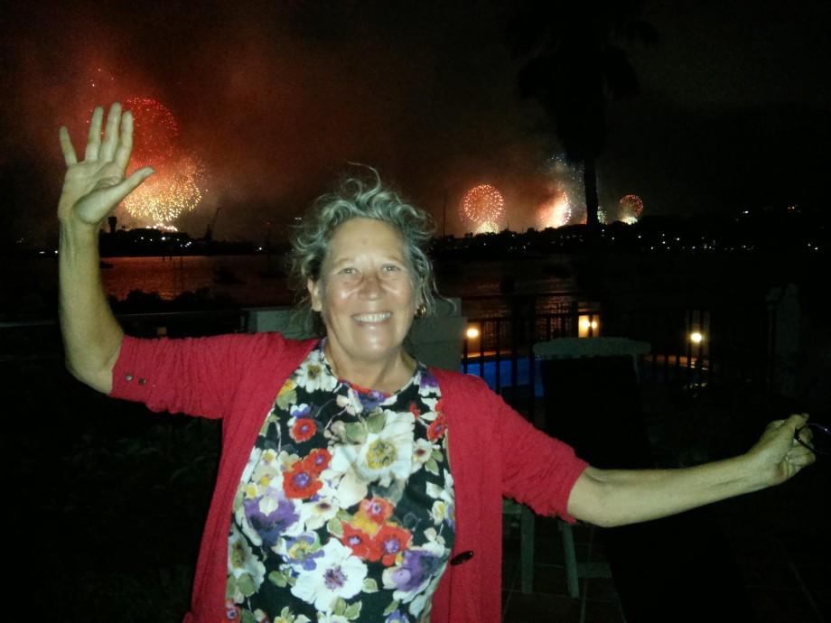 Kate celebrates NYE in Sydney