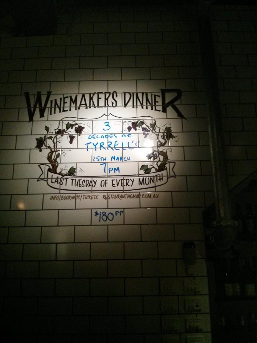 Wine Makers Dinner