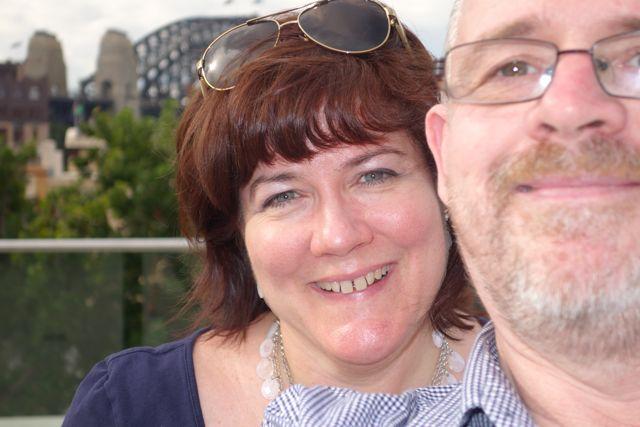 Sandra and James
