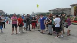 Tour Group in Tiananmen Square, Beijing