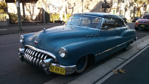 Classic Car on Bourke Street, Surry Hills, Sydney